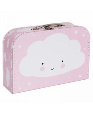 Maletin nube rosa